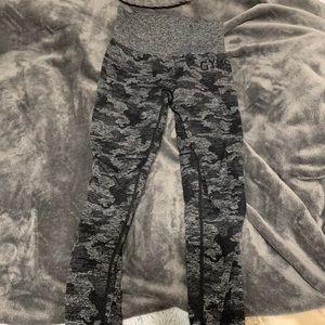 Gymshark seamless camo leggings